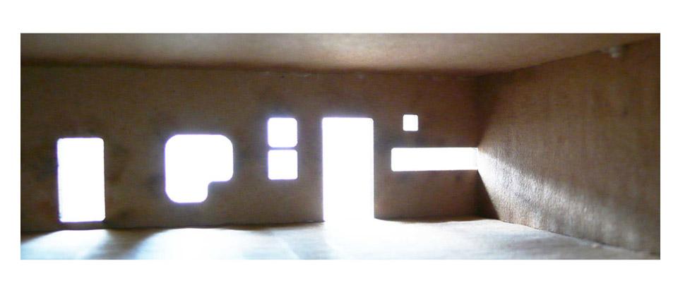 leilighet med aktivitet i fasaden.